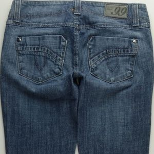 Level 99 Boot Cut Jeans Women's 26 Stretch C422